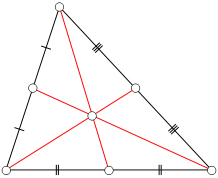 Properties of Triangles - Centroid Worksheets