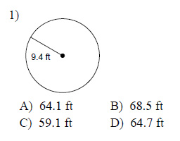 Circles-Circumference-and-area-Easy