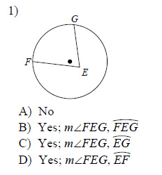 Circles-Inscribed-angles-Easy