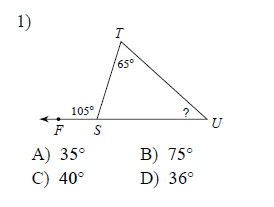 Exterior angle theorem worksheets - How to do exterior angle theorem ...