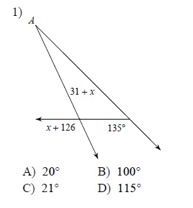 Congruent Triangles Triangle Angle Sum Hard