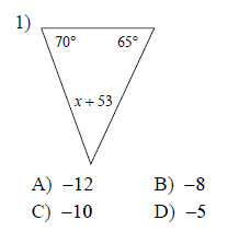 Congruent Triangles Triangle Angle Sum Medium