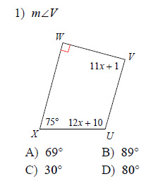 Quadrilaterals-and-Polygons-Angles-Hard